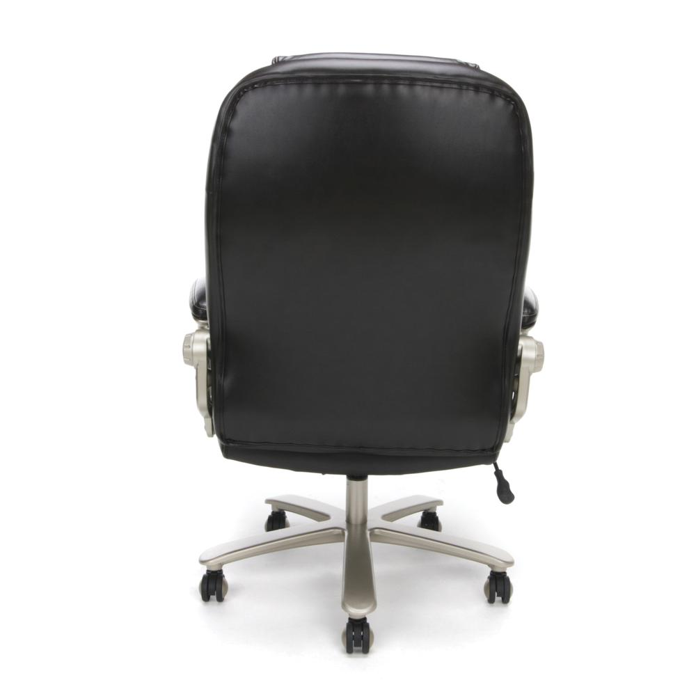 OFM ESS-201 Big and Tall Leather Office Chair with Arms, Brown/Bronze. Picture 3
