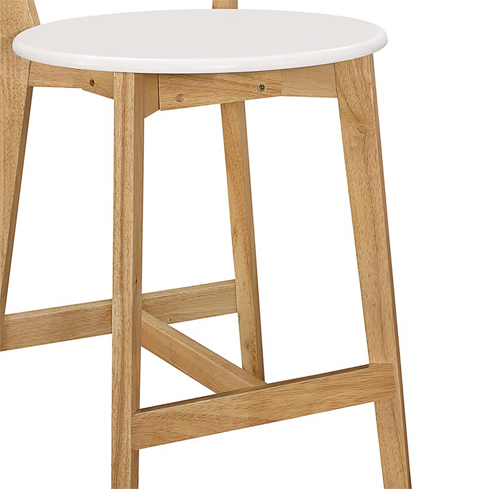 Retro Modern Barstools Set of 2 WhiteNatural : 21a85577 bbe2 4256 8004 635621a7247c from www.bisonoffice.com size 1000 x 1000 jpeg 267kB
