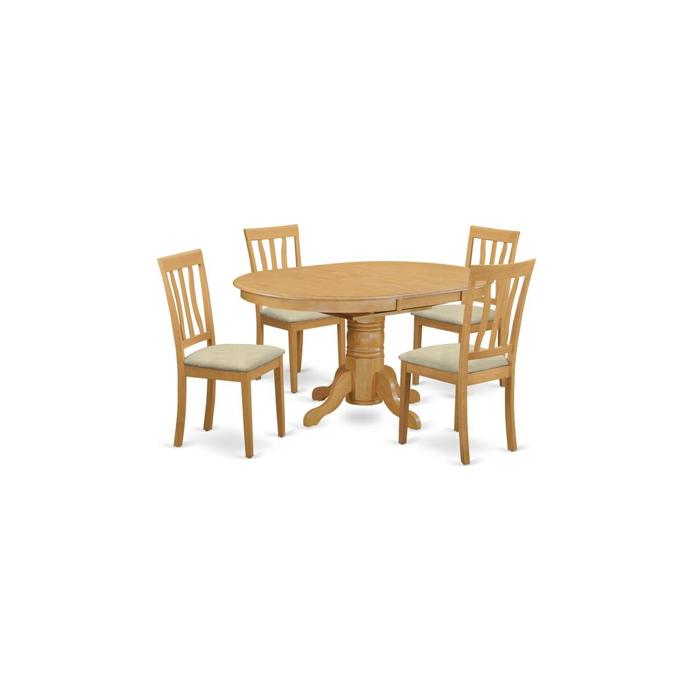 Kitchen Dinette Table And 4 Chairs