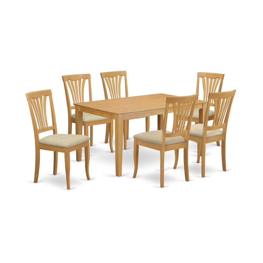 Dinette Table And 6 Dining Chairs