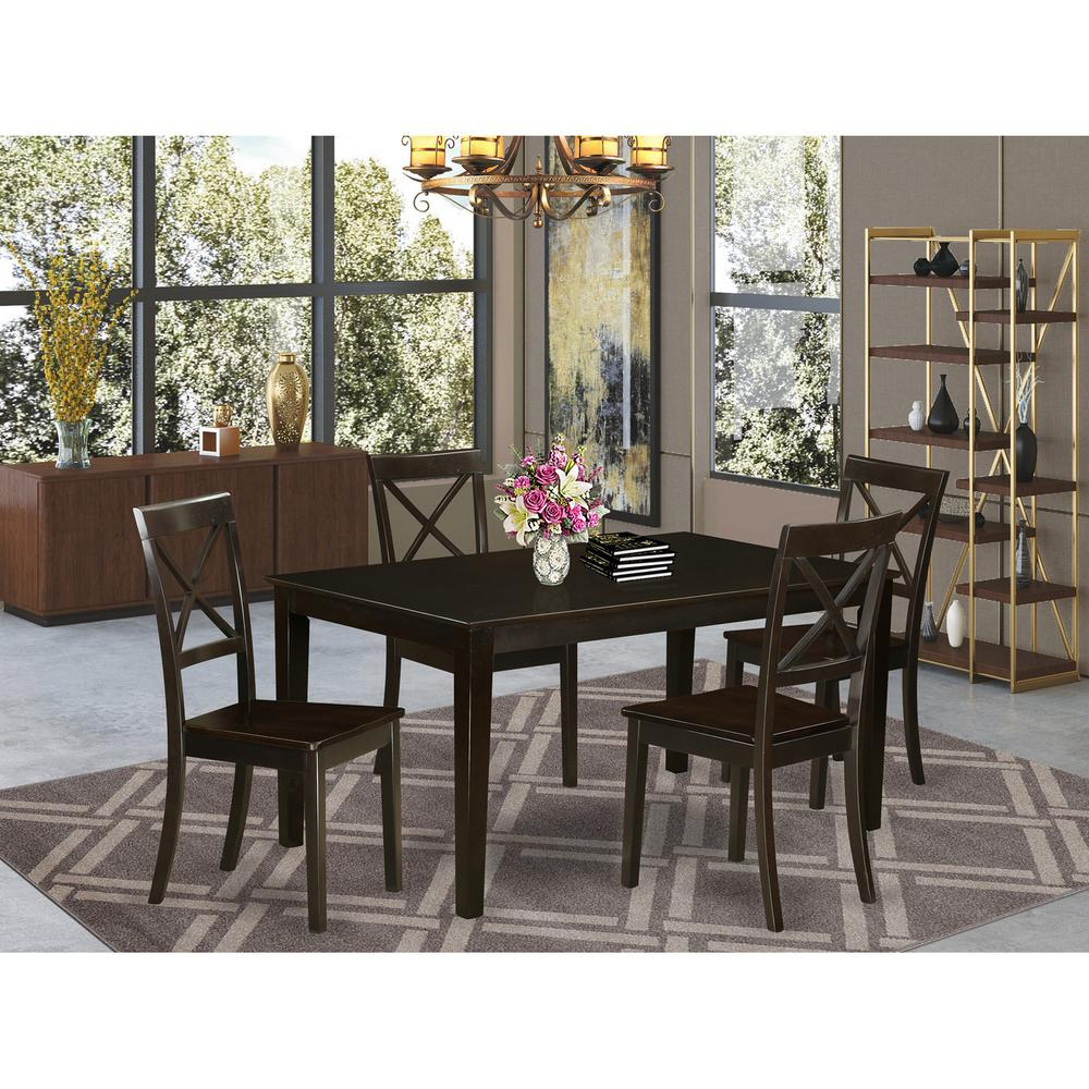 5  Pc  Dining  room  set  -  DinetteTable  and  4  Dining  Chairs. Picture 1