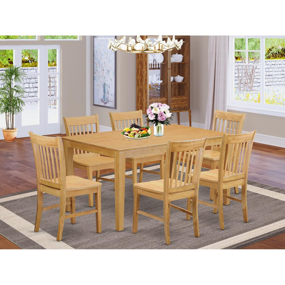 52 Kitchen Tables And Chairs Sets 7 Pc Dining Room: 7 Pc Dining Room Set-Dinette Table And 6 Dining Chairs