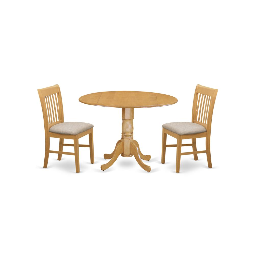 3 Piece Kitchen Nook Dining Set Small Kitchen Table And 2: 3 Pc Kitchen Nook Dining Set-small Table And 2 Dinette Chairs
