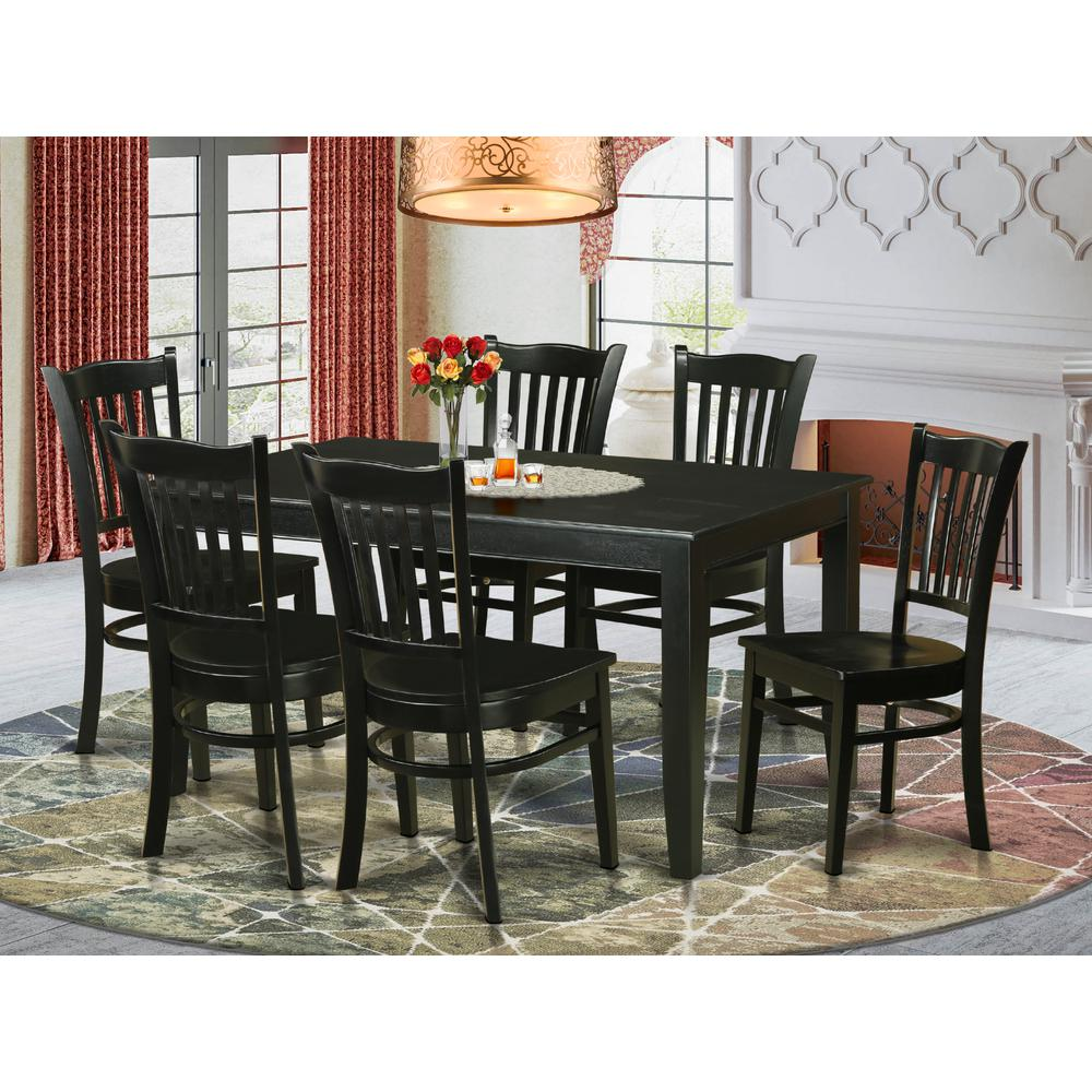 52 Kitchen Tables And Chairs Sets 7 Pc Dining Room: 7 PC Dining Room Sets -Kitchen Dinette Table And 6 Kitchen