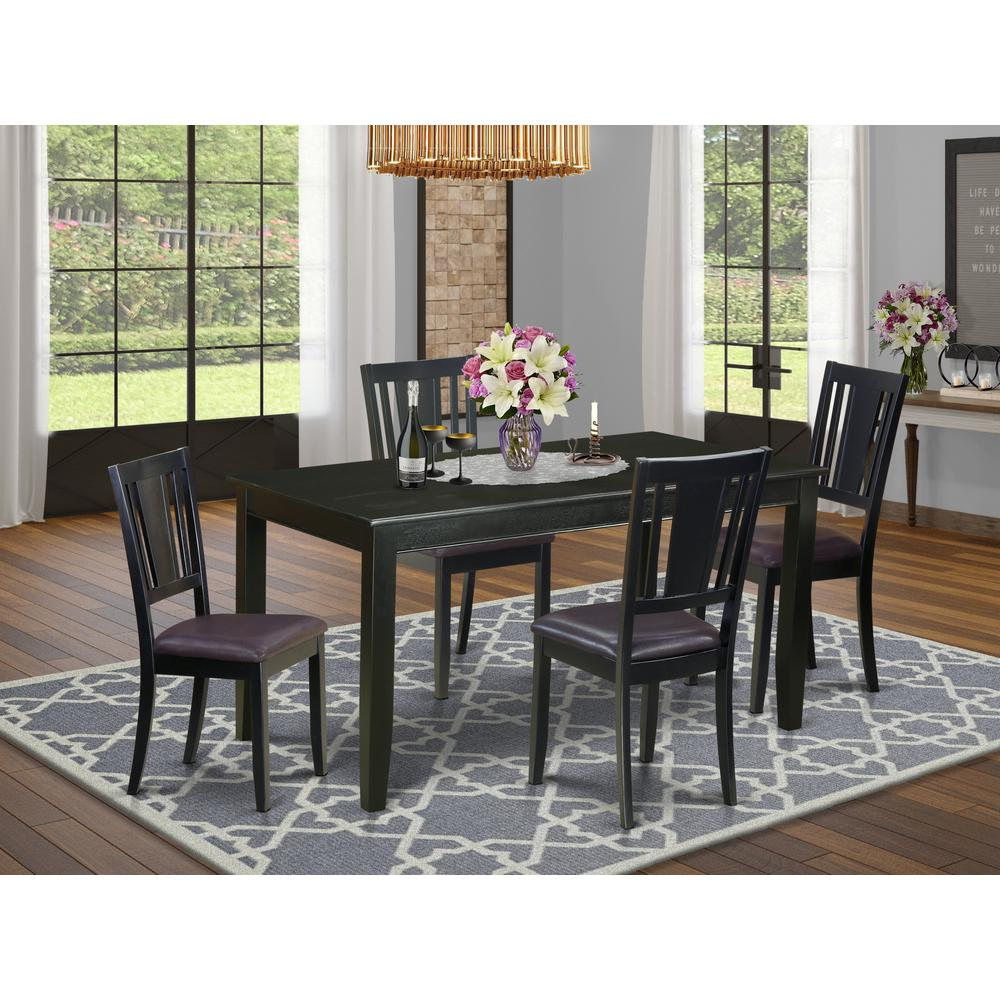 5  PC  Dining  room  set-Dining  Table  and  4  Chairs  for  Dining  Chairs. Picture 1