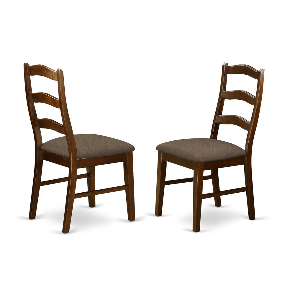 Henley Ladder Back Chair For Dining Room With Wood Seat