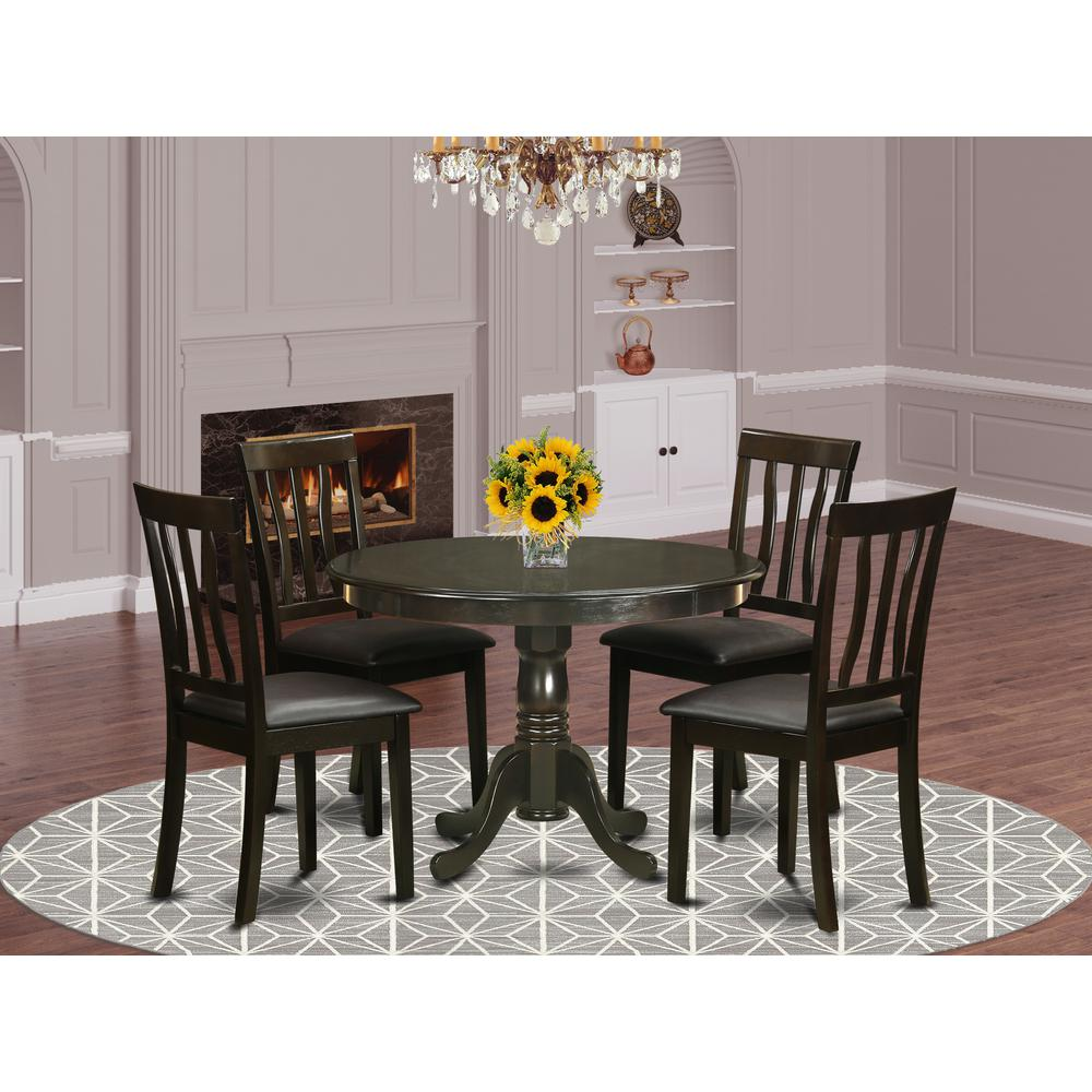 Small Kitchen Table And 4: 5 Pc Small Kitchen Table And Chairs Set--small Kitchen