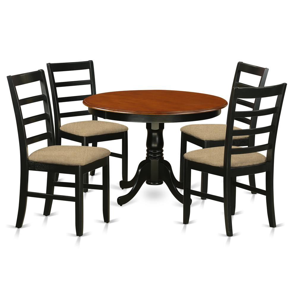 5 Pc Set With A Kitchen Table And 4