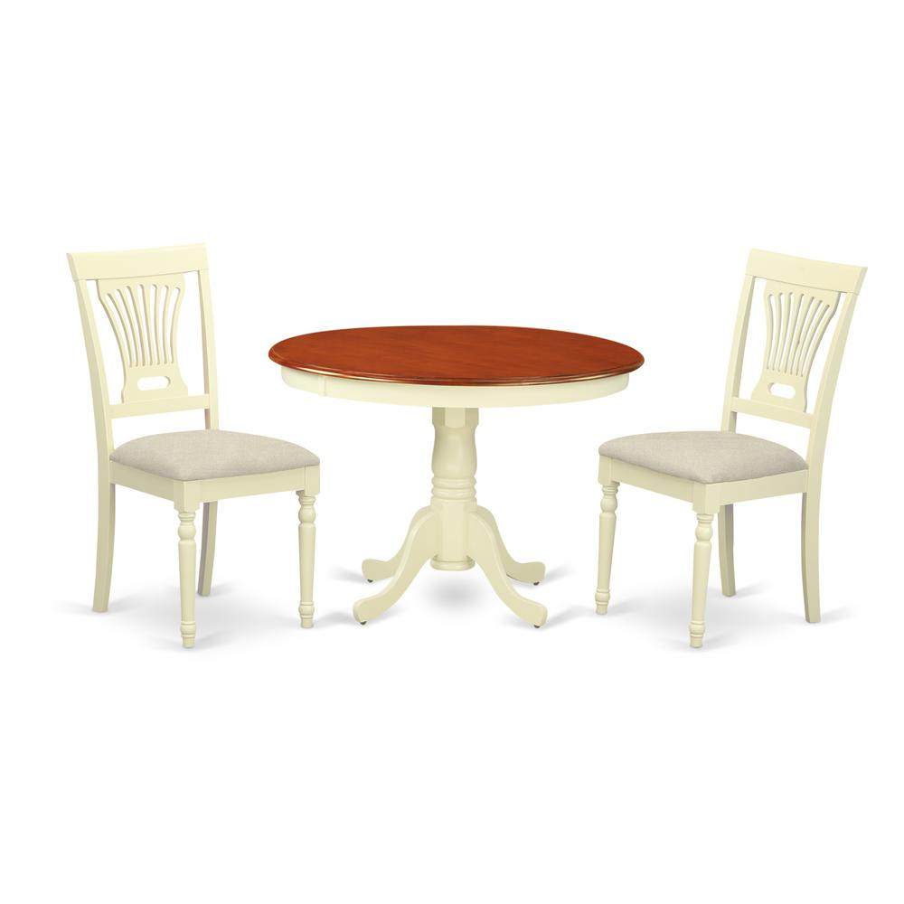 3 Pc Set With A Dining Table And 2Seat Dinette Kitchen