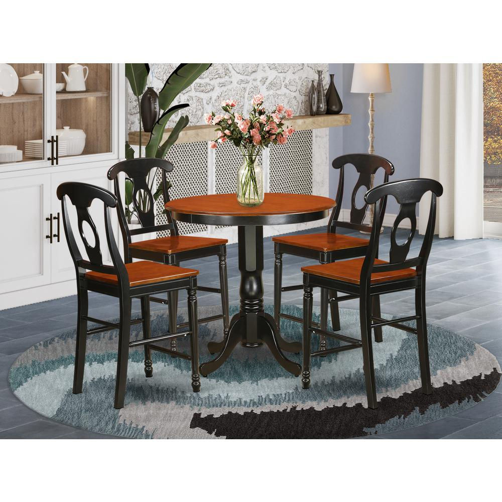 5  Pc  counter  height  set  -  high  Table  and  4  Kitchen  Dining  Chairs.. Picture 1