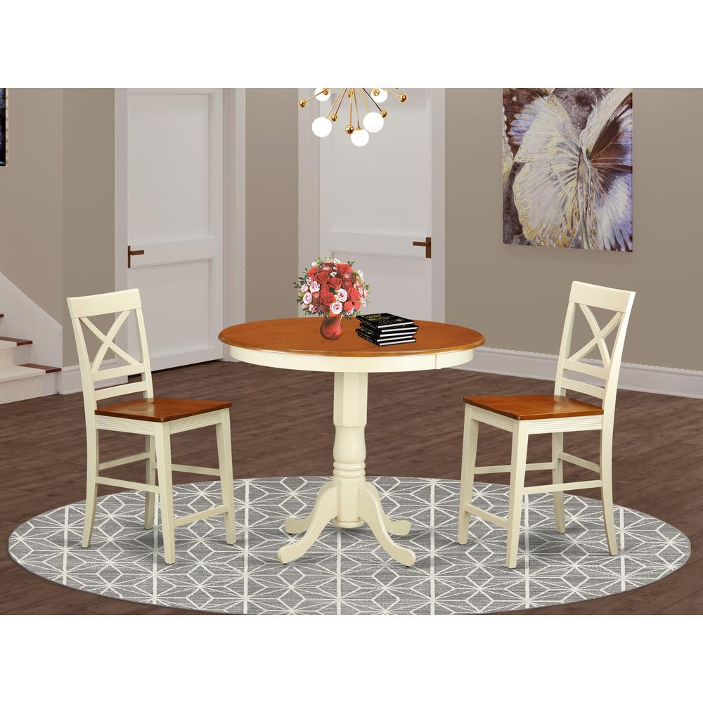 3  Pcpub  Table  set-pub  Table  and  2  Dining  Chairs.. Picture 1