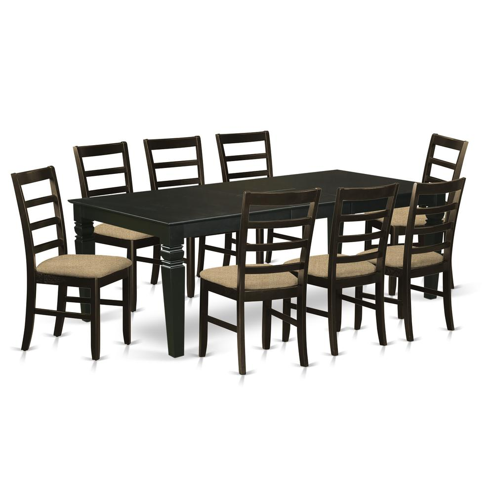 9 pc dining room set with a kitchen table and 8 kitchen for 8 pc kitchen set