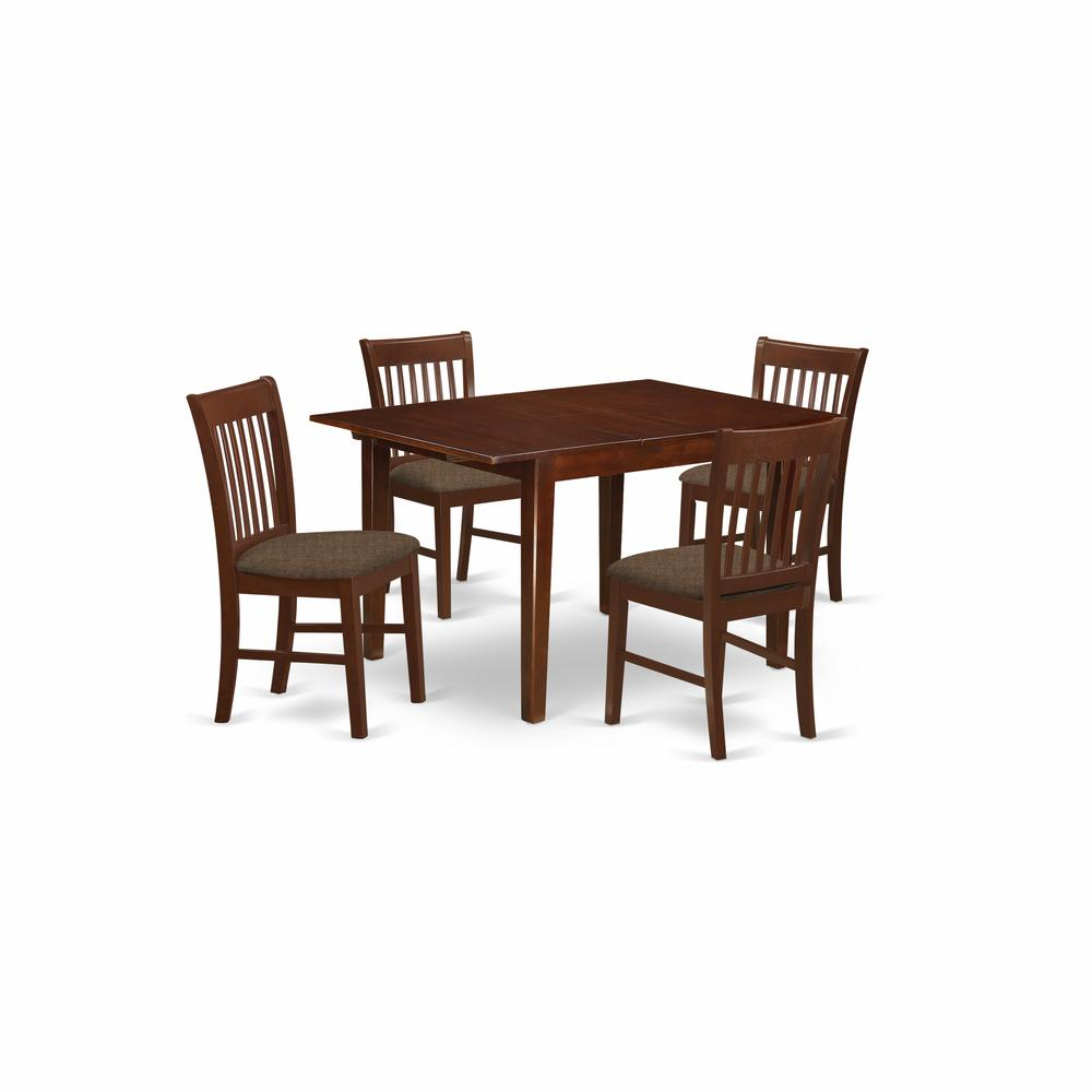 Kitchen Nook Table Sets: 5 Pc Kitchen Nook Dining Set-small Dining Tables And 4
