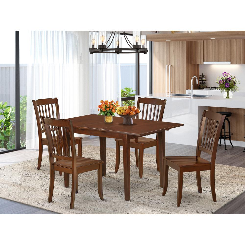 5  Pc  Kitchen  nook  Dining  set-breakfast  nook  and  4  Dining  Chairs.. Picture 1