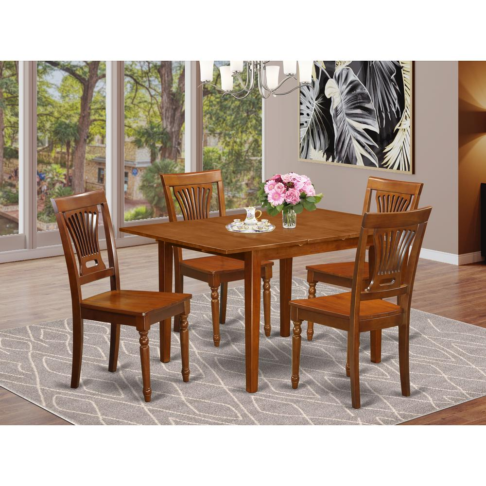 5  Pc  Kitchen  nook  Dining  set-Kitchen  Tables  4  Chairs  for  Dining  room. Picture 1