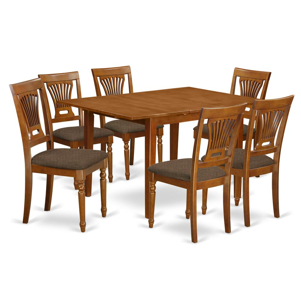 7 Pc Kitchen dinette set-Kitchen Tables and 6 Kitchen Chairs