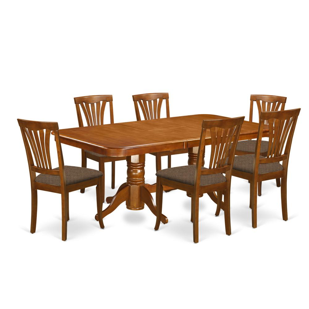 7 Pc Dining Room Sets: 7 PC Dining Room Set Dining Table And 6 Kitchen Dining Chairs