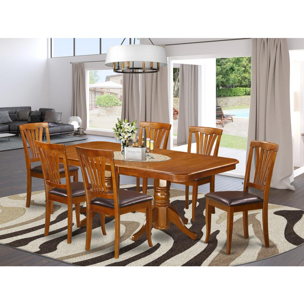 7  PC  Dining  room  set  Table  and  6  Chairs  for  Dining. Picture 1