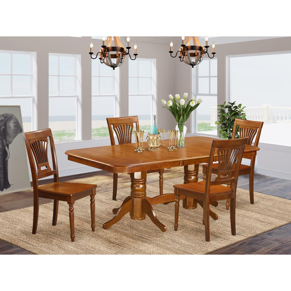 5 pc dining room set dining table and 4 dining chairs. Black Bedroom Furniture Sets. Home Design Ideas