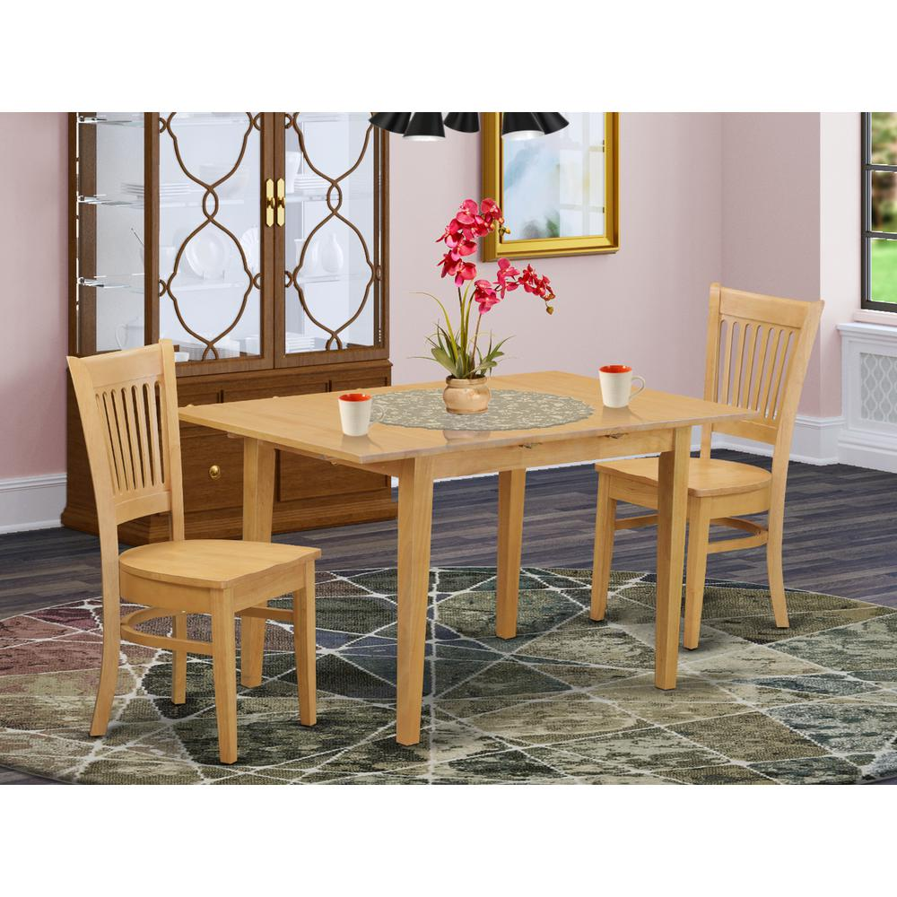 3 pc kitchen table set kitchen dinette table and 2 dinette chairs. Black Bedroom Furniture Sets. Home Design Ideas