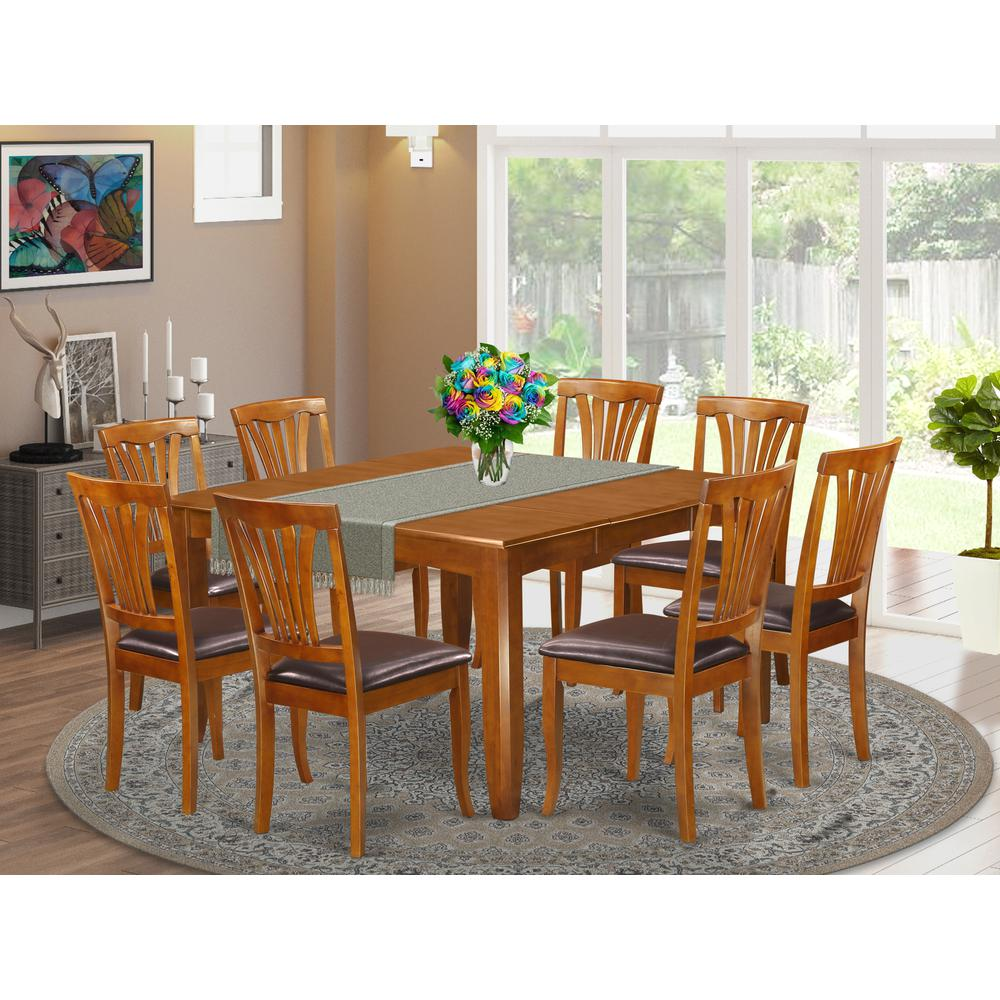 9 pc dining room sets
