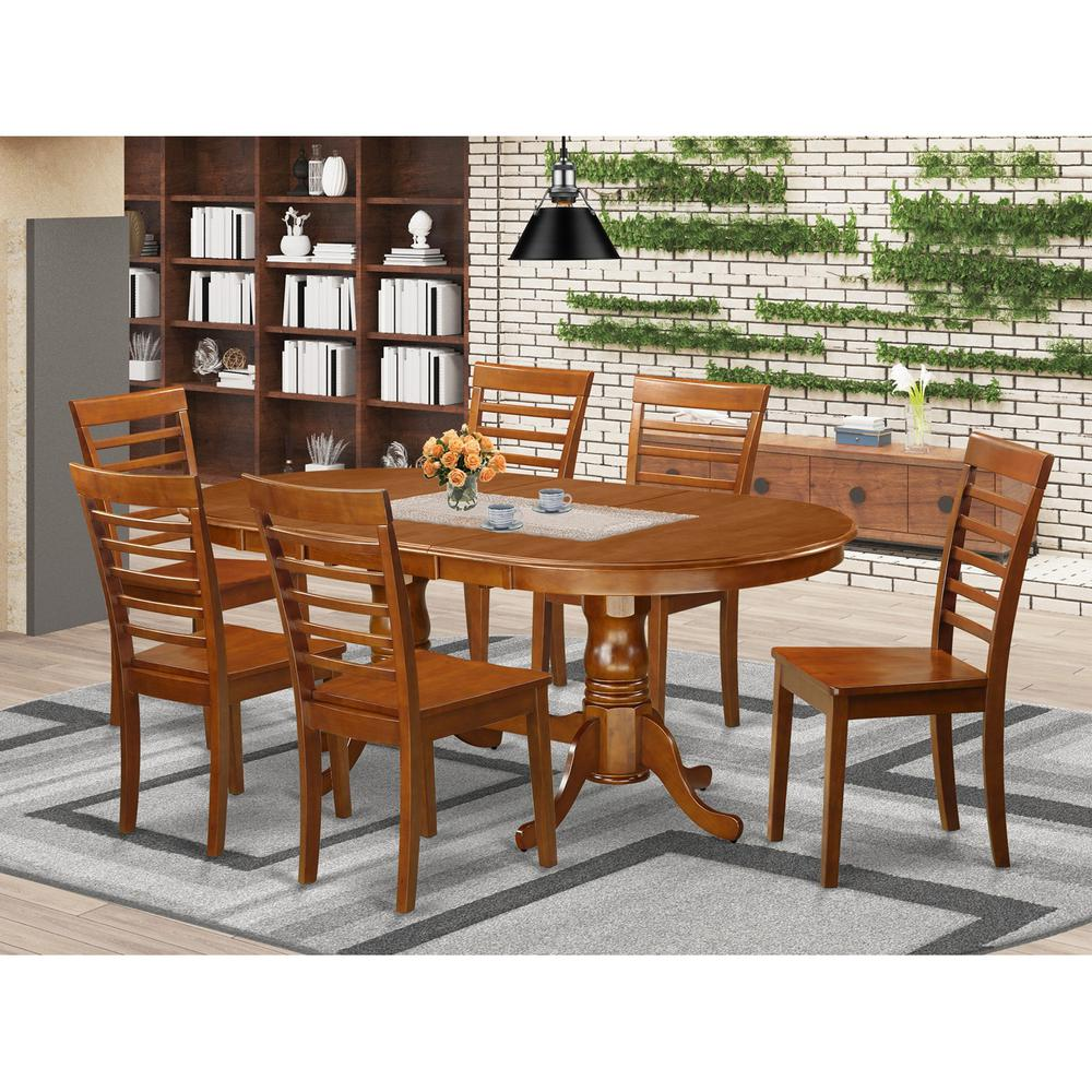 52 Kitchen Tables And Chairs Sets 7 Pc Dining Room: 7 PC Dining Room Set For 6-Dining Table And 6 Kitchen