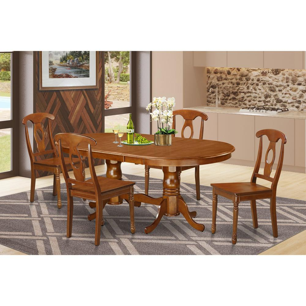 5 Pc Dining Set Dining Table Plus 4 Dining Chairs