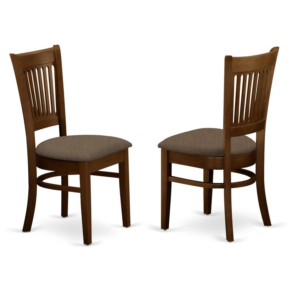 Vancouver microfiber upholstered seat chairs for dining