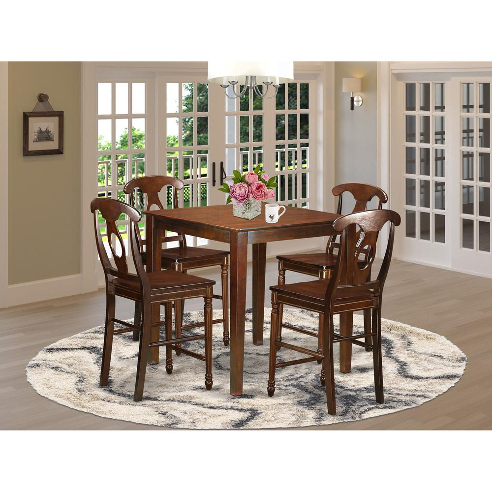 High Dining Table And Chairs: High Table And 4 Dining Chairs