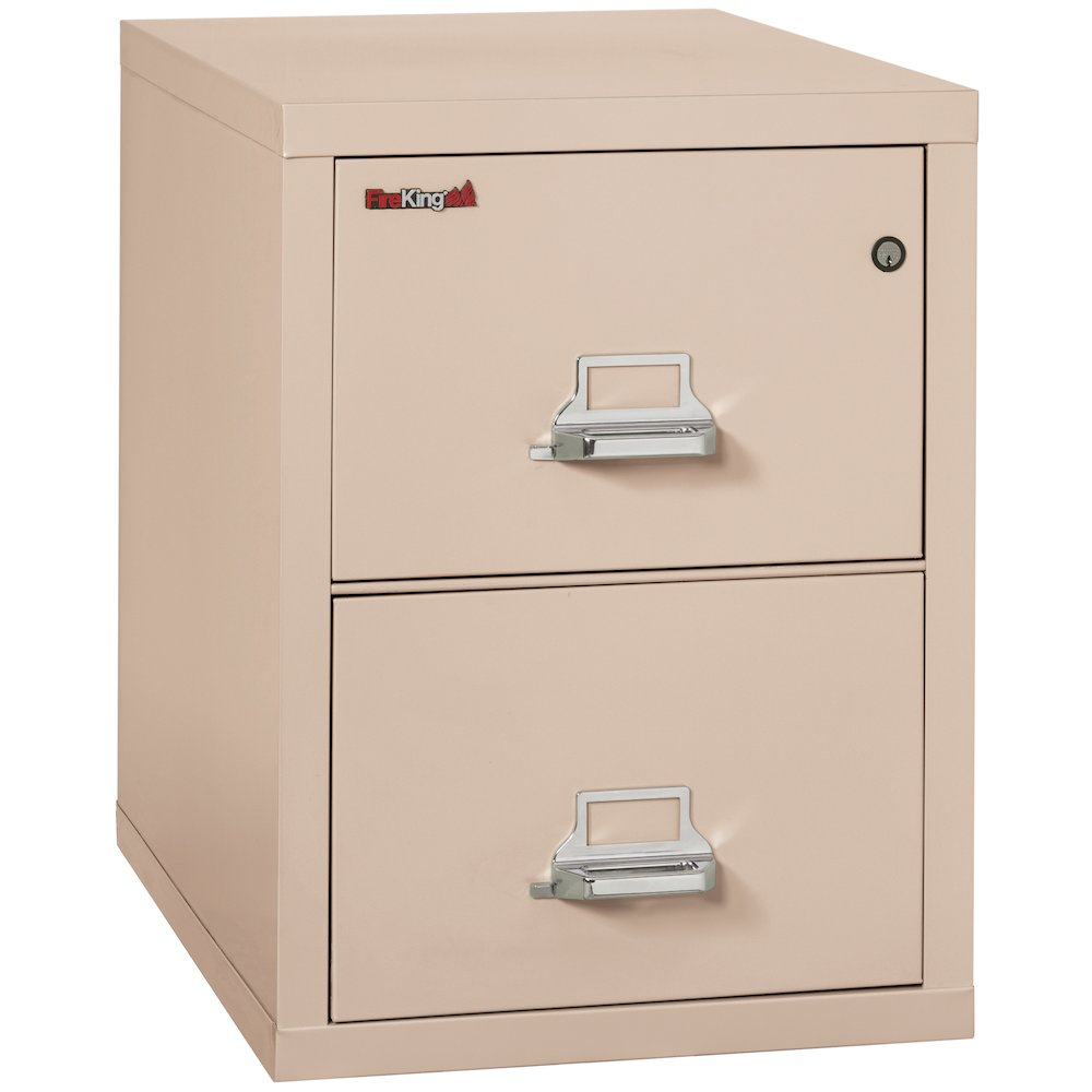 "Vertical File Cabinet, 2 Drawer Legal  31 1/2"" depth, Champagne. The main picture."