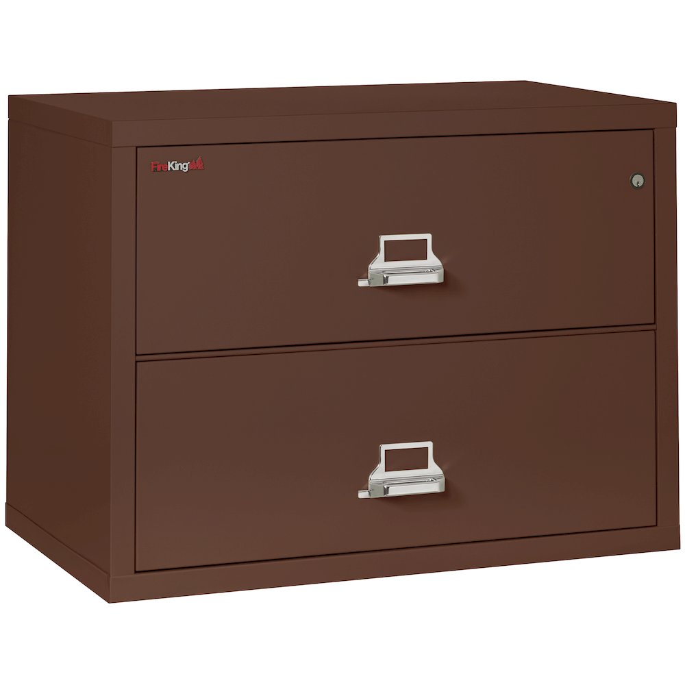 2 Drawer Lateral File 38 Quot Wide Brown