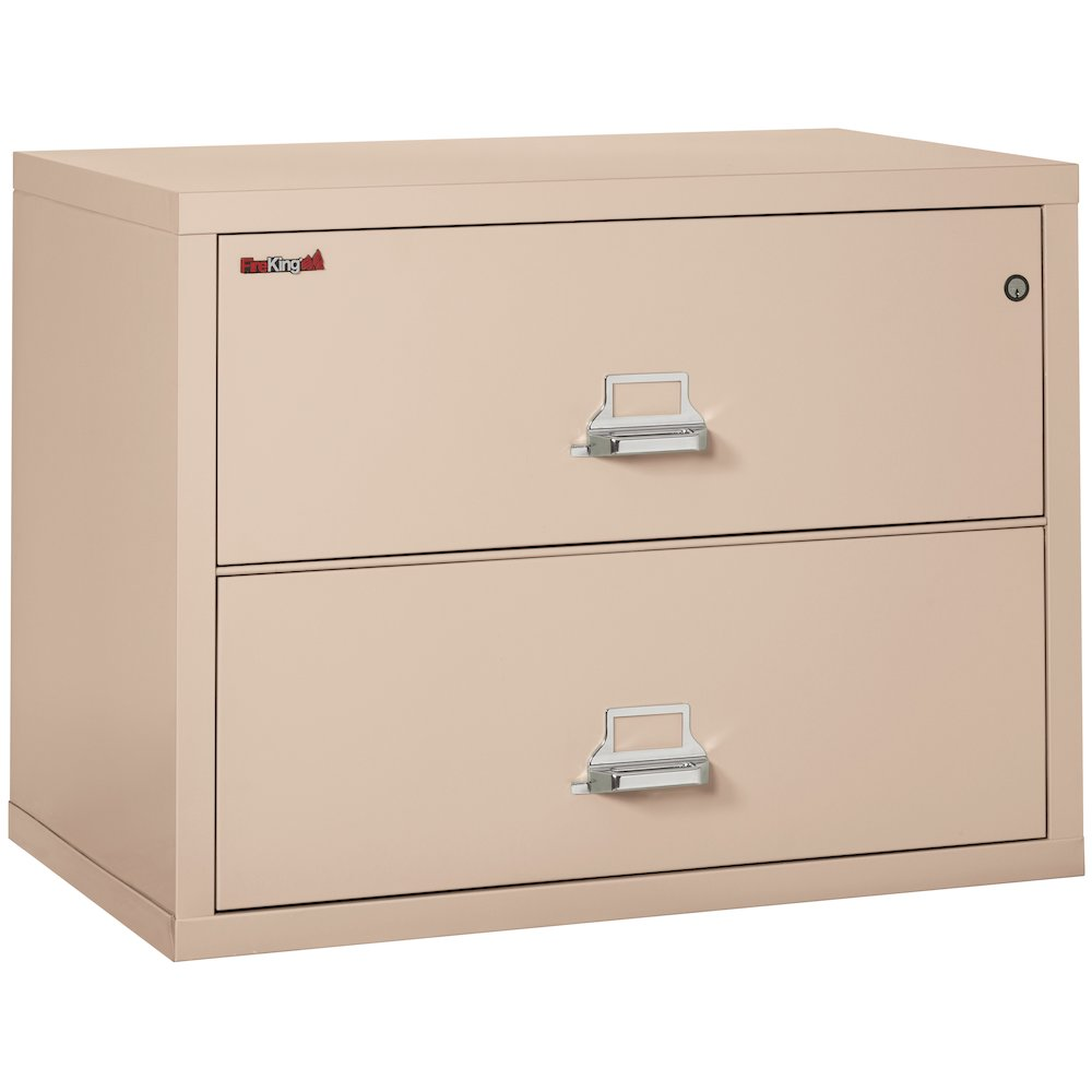 """2 Drawer Lateral File, 38"""" wide, Champagne. Picture 1"""