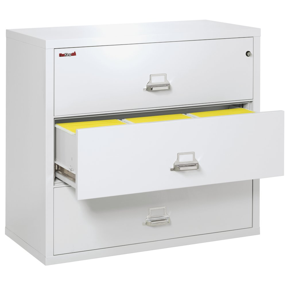 """3 Drawer Lateral File, 44"""" wide, Arctic White. Picture 2"""