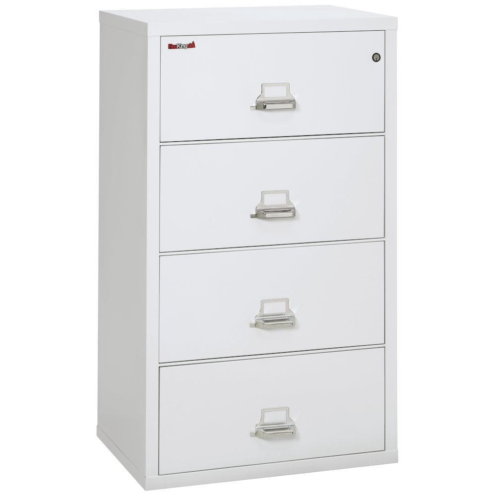 """4 Drawer Lateral File, 31"""" wide, Arctic White. Picture 1"""