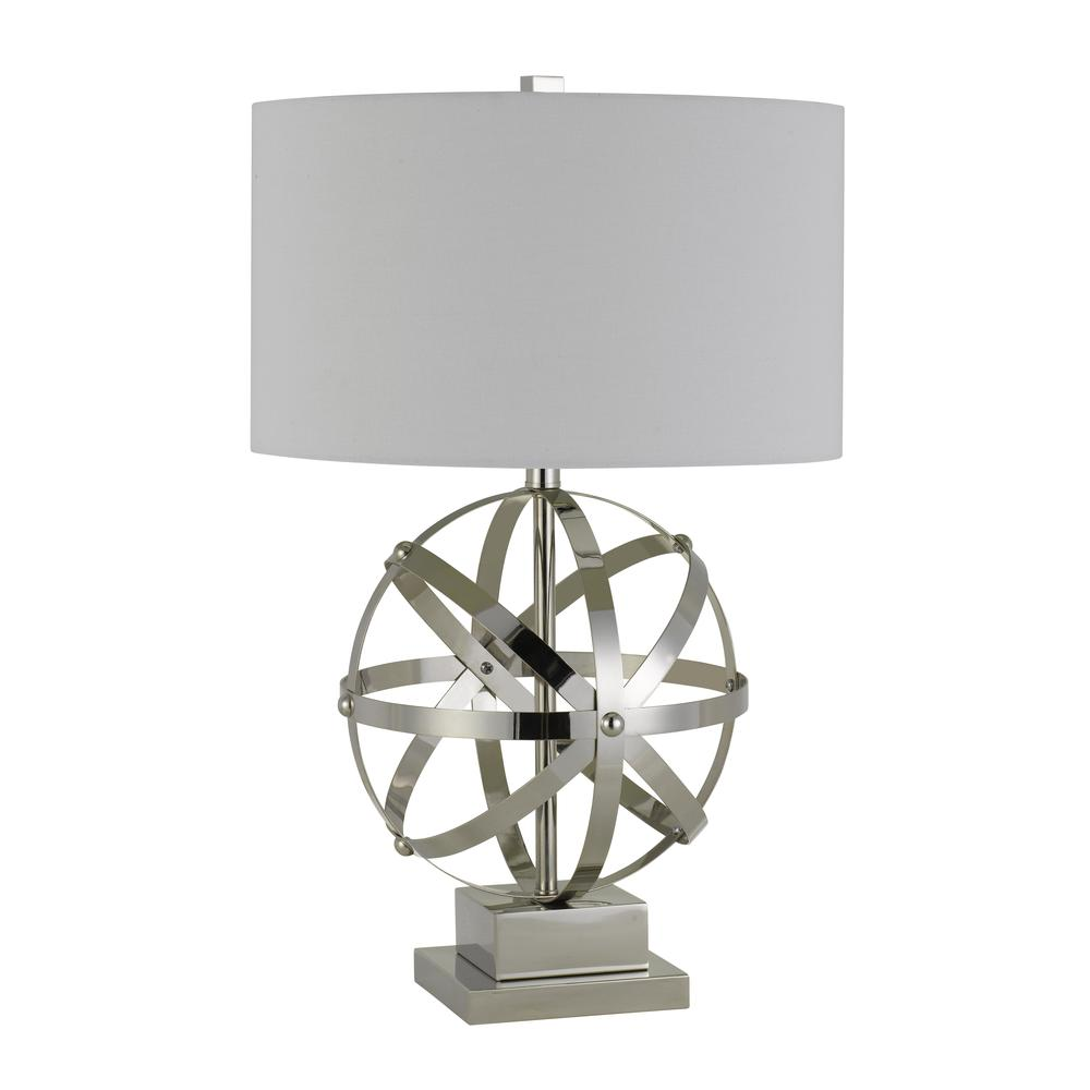 150W 3 Way Vittoria Metal Table Lamp. Picture 4