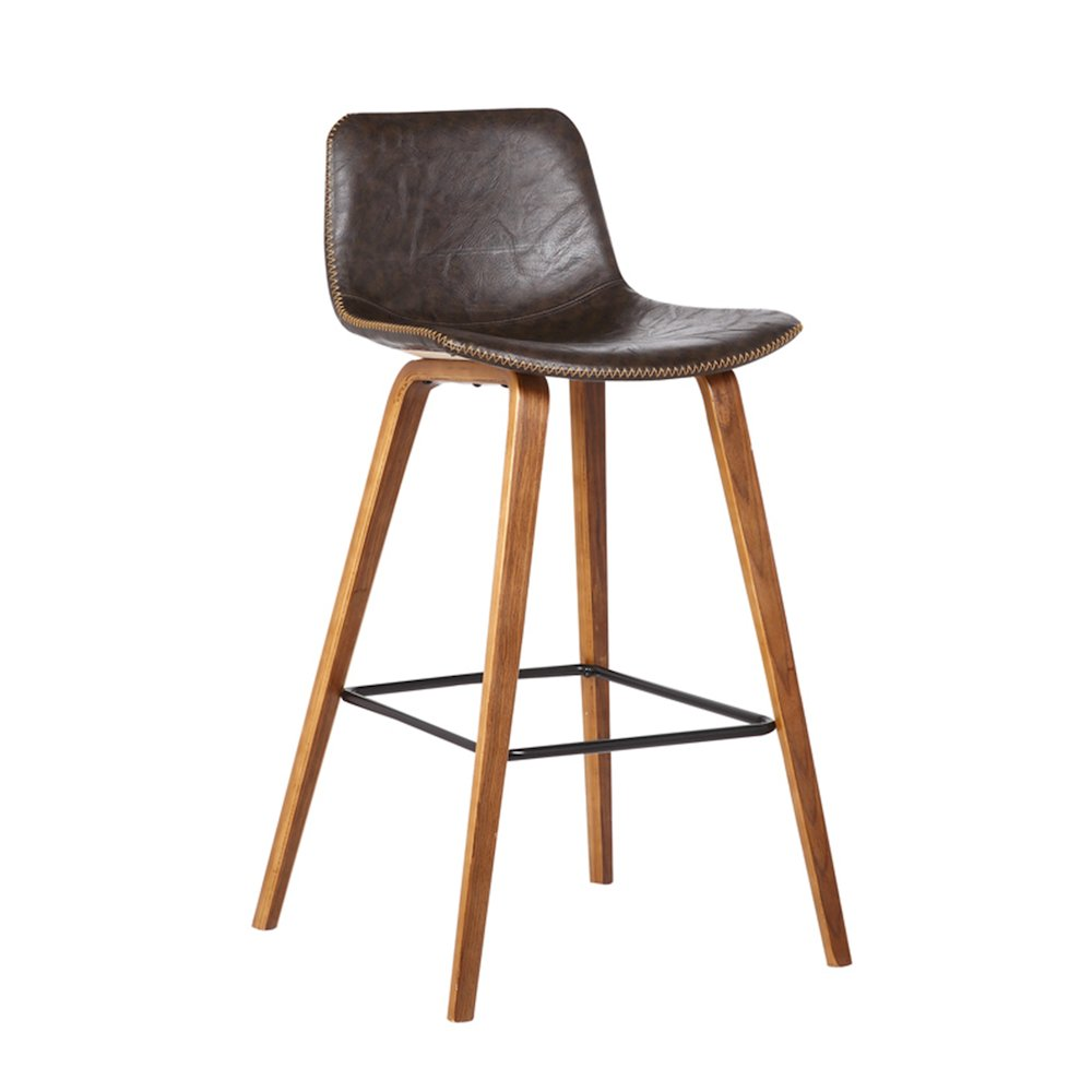 Bromi Design Union Barstool Brown