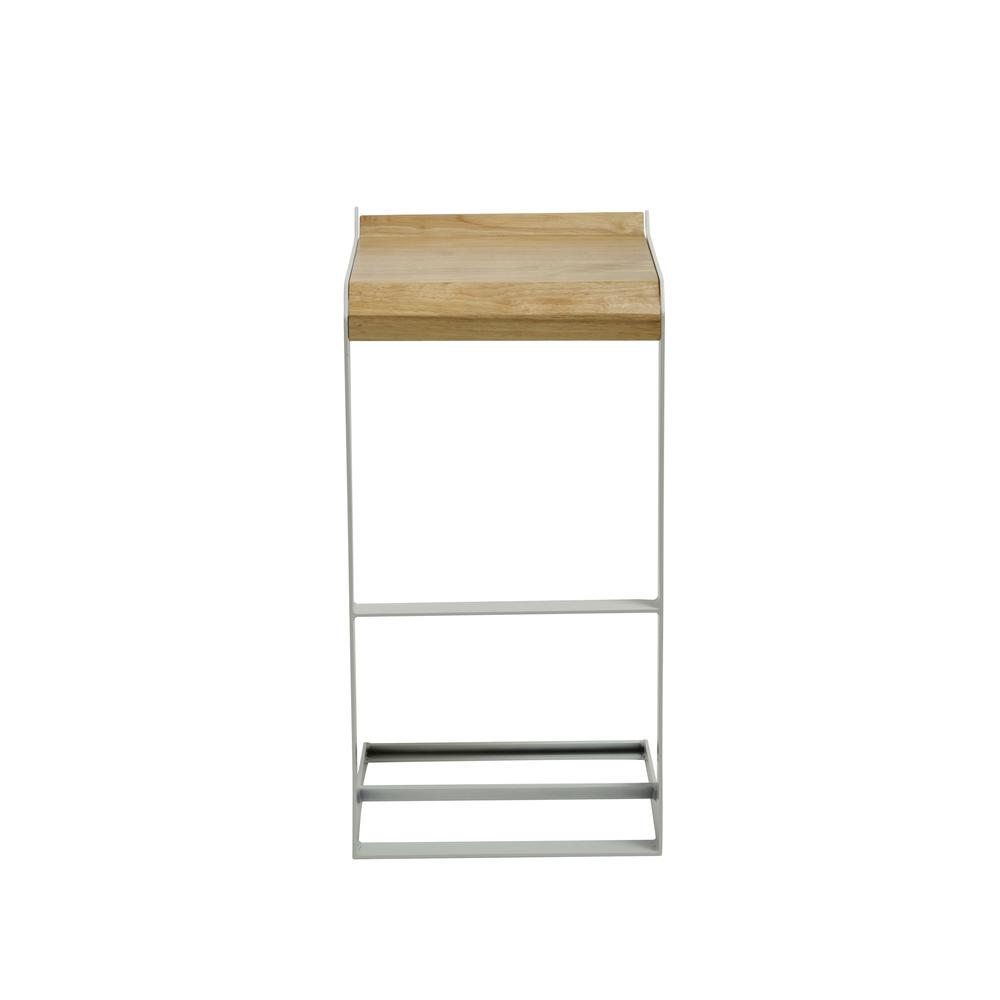Bromi Design Logan Barstool White