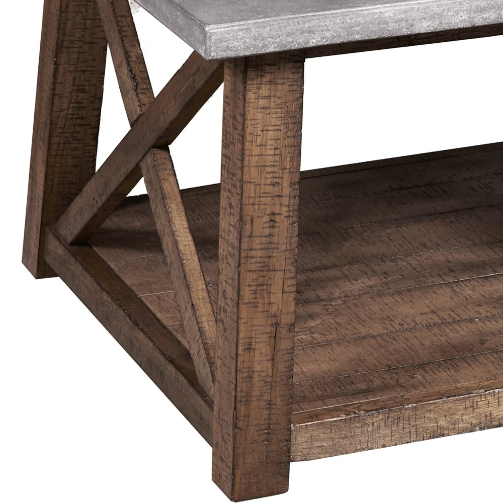 console cabinet farmhouse style distressed cocktail table 13794