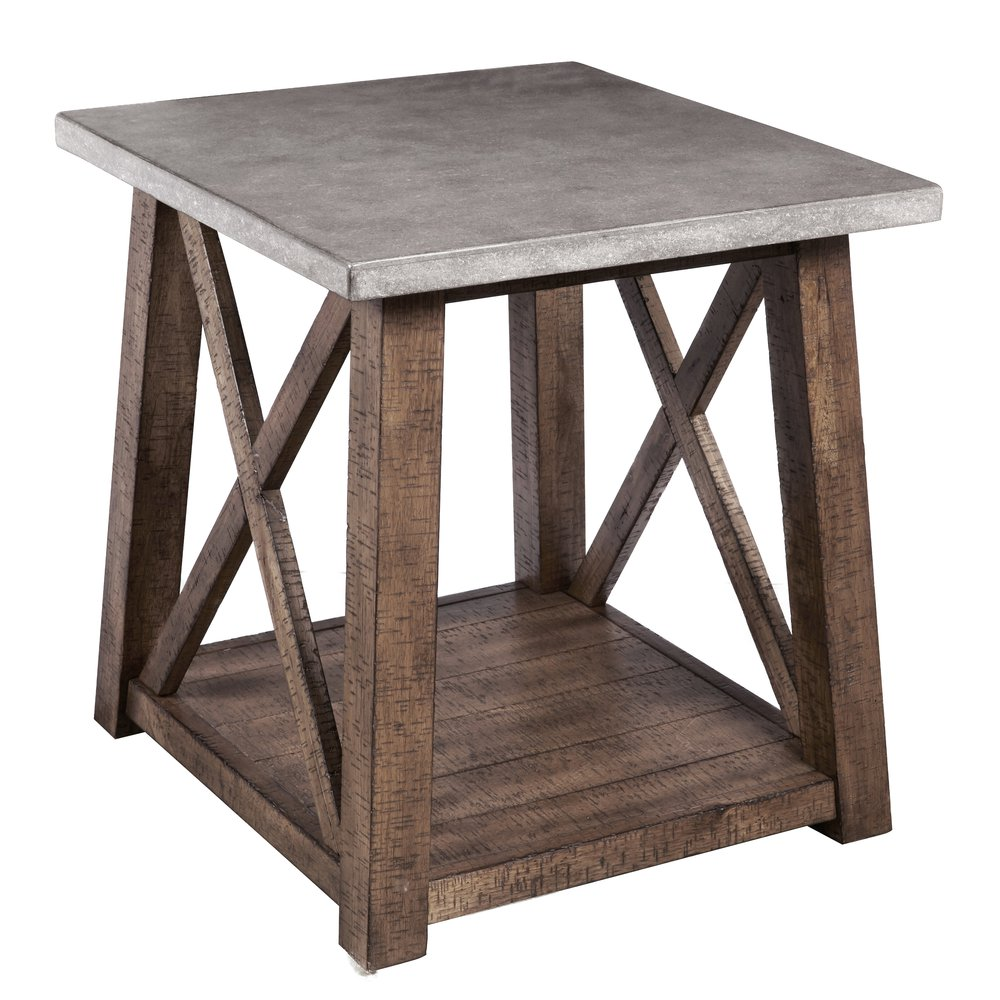 console cabinet farmhouse style distressed end table 13794