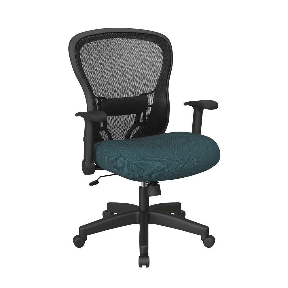 Deluxe R2 SpaceGrid Back Chair with Memory Foam Mesh Seat Chair. Picture 1