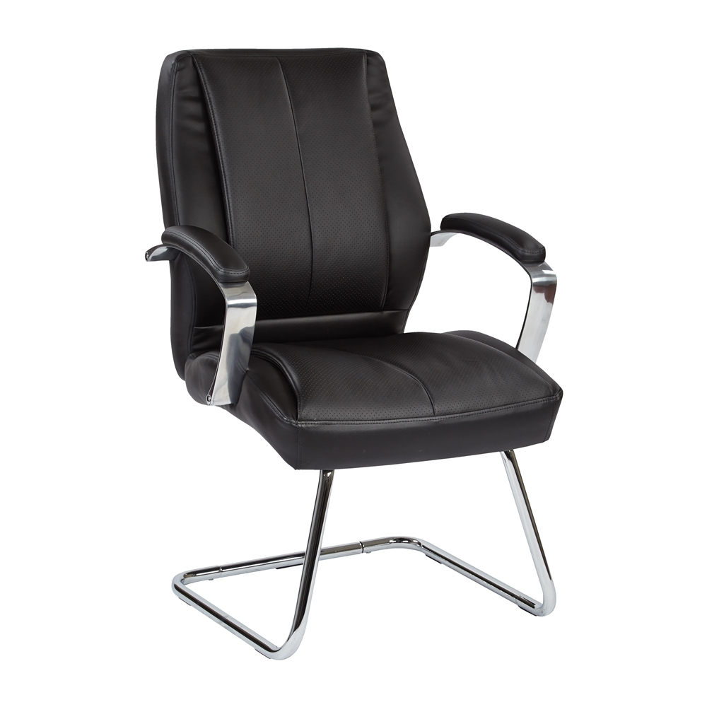 Deluxe Mid Back Executive Visitors Chair. Picture 1