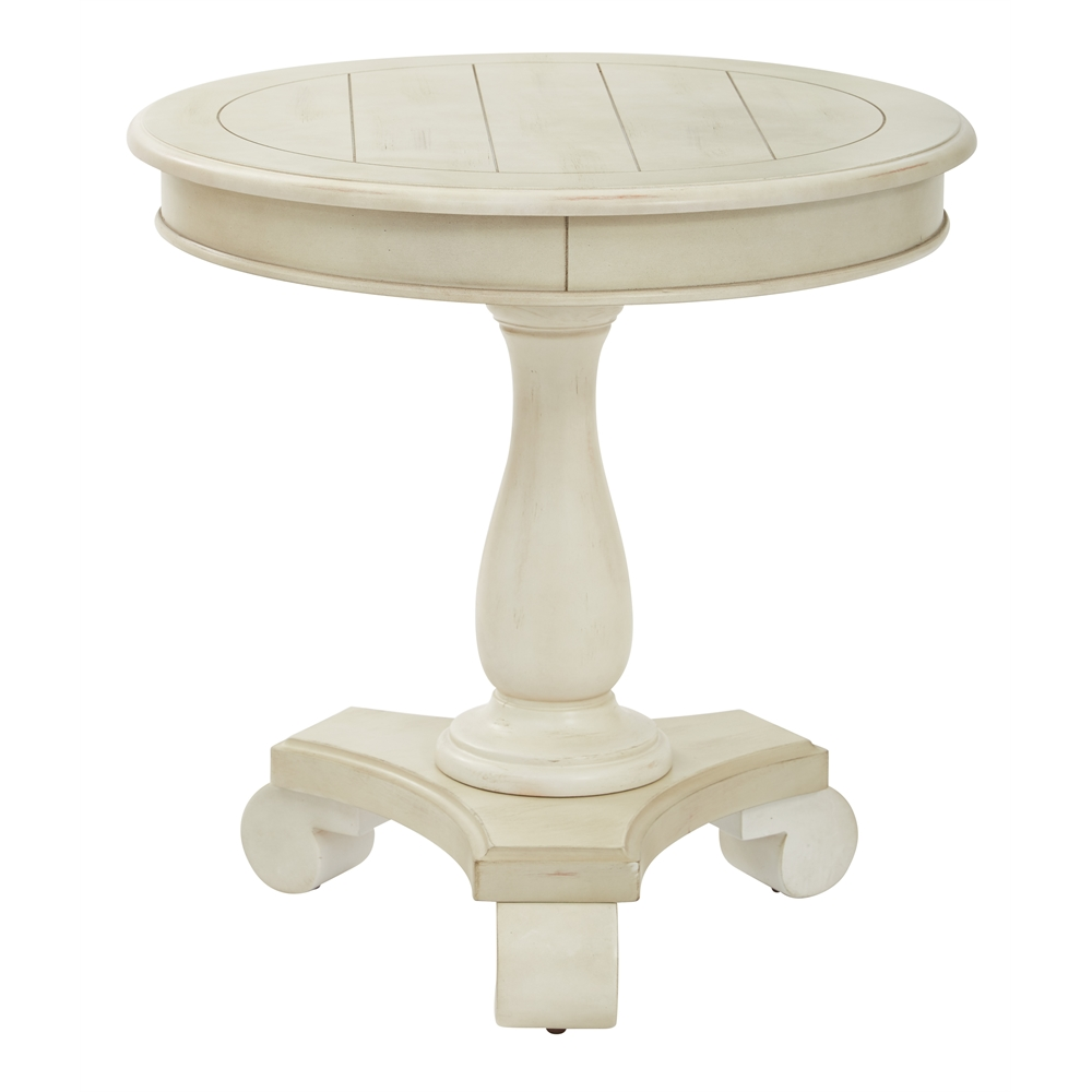 Avalon Round Accent table. Picture 1