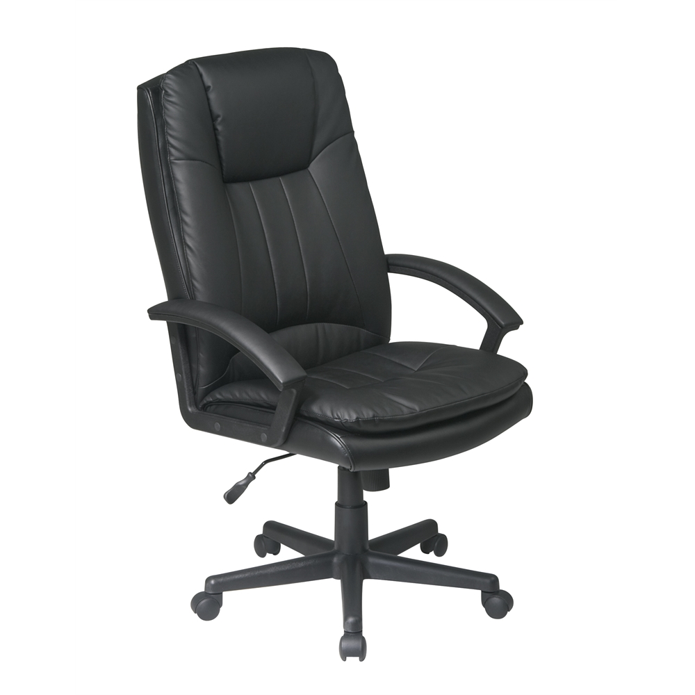 Deluxe High Back Executive Bonded Leather Chair