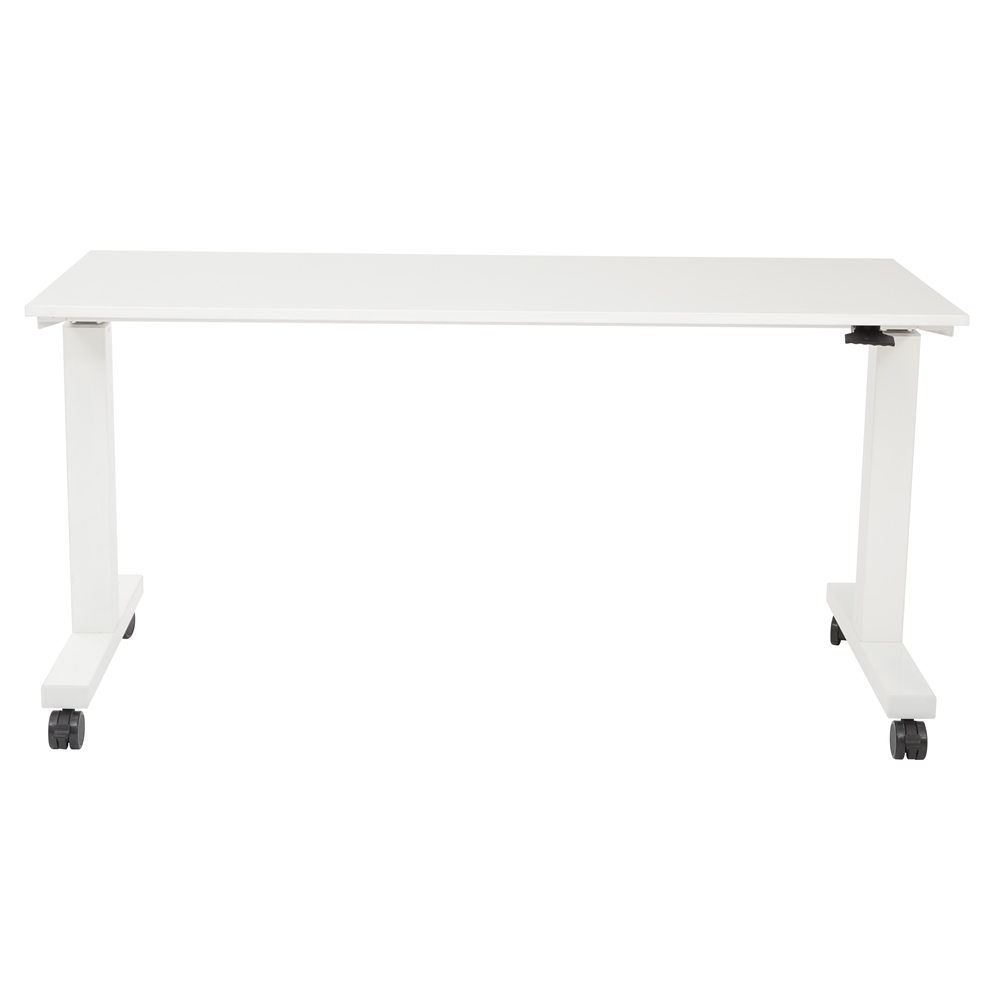 6 ft. Wide Pneumatic Height Adjustable Table. Picture 3