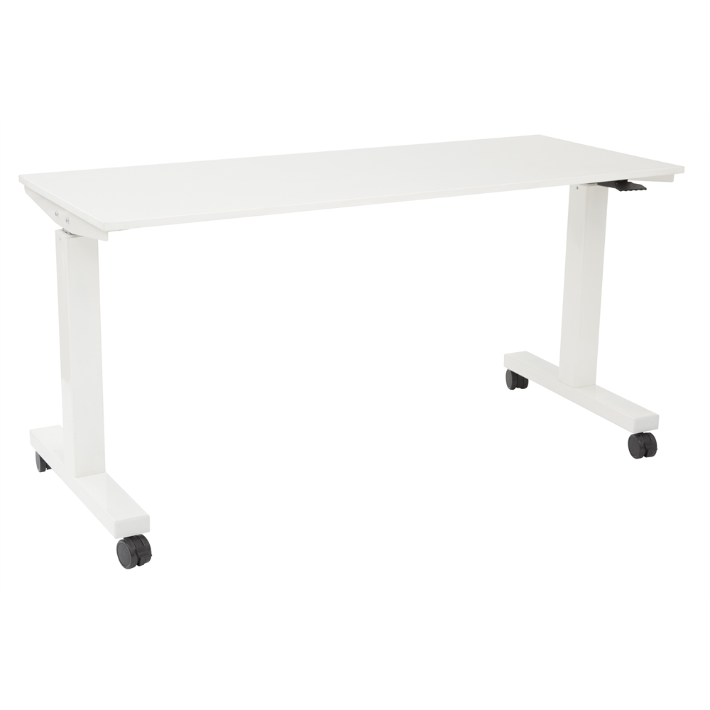 6 ft. Wide Pneumatic Height Adjustable Table. Picture 1