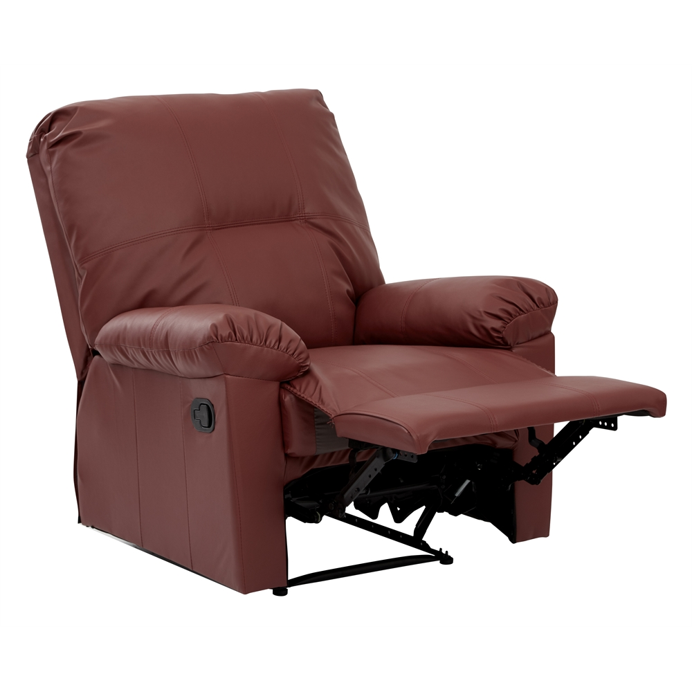 Kensington Recliner Crimson Red