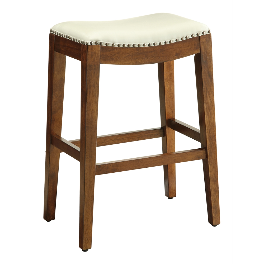 Metro 29quot Saddle Stool with Nail Head Accents and Espresso  : 23met1529bd28hi from www.bisonoffice.com size 1000 x 1000 jpeg 244kB