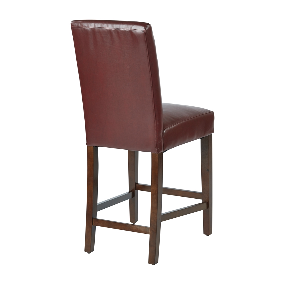 24quot Parsons Counter Stool in Crimson Red KD 2 Pack : 23met2824rdbackhi from www.bisonoffice.com size 1000 x 1000 jpeg 157kB