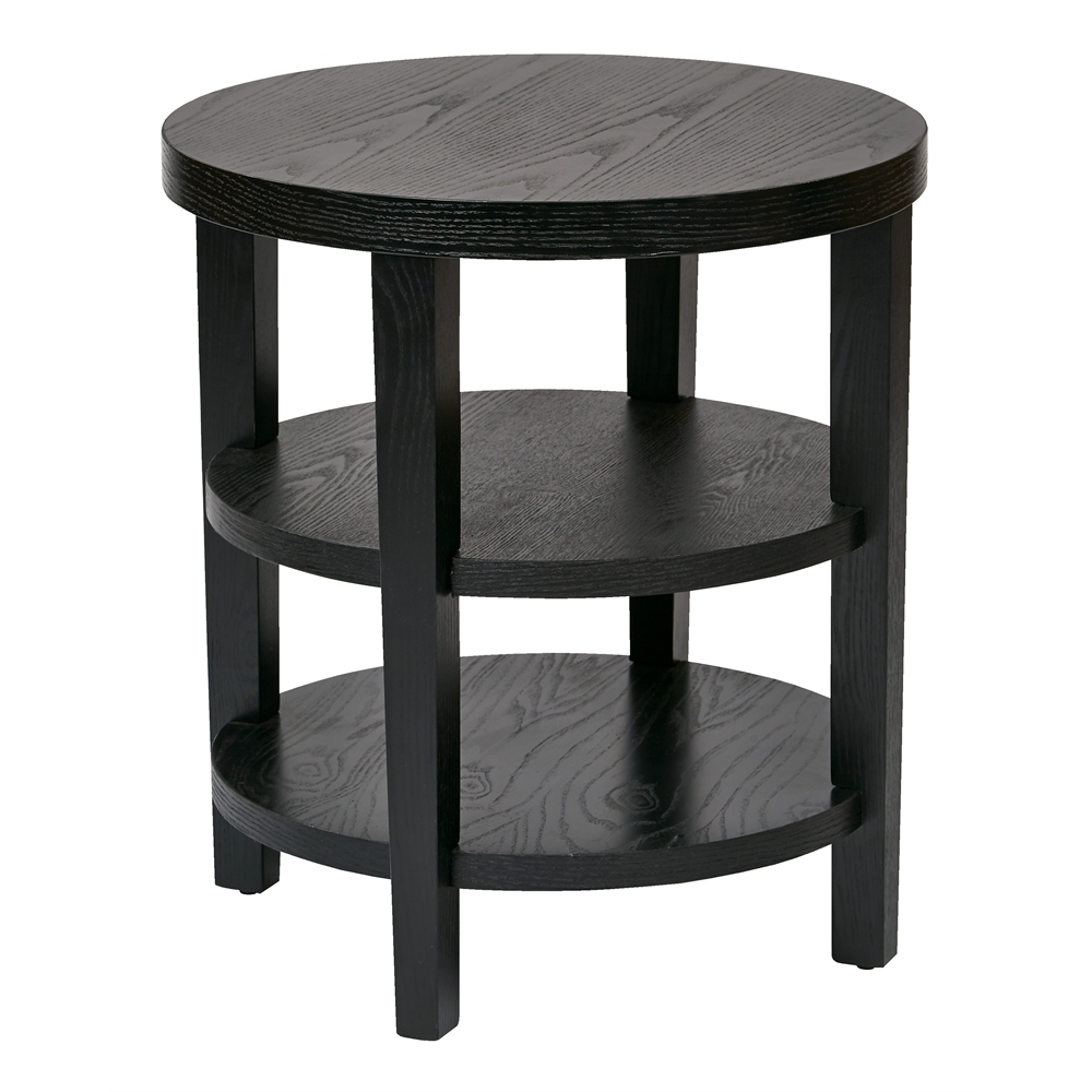"Merge 20"" Round End Table. Picture 1"