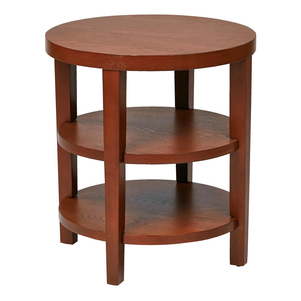 """Merge 20"""" Round End Table. Picture 1"""